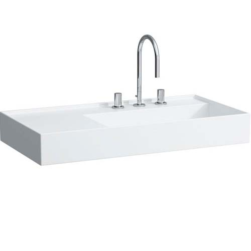 click on 90cm Basin with Shelf image to enlarge
