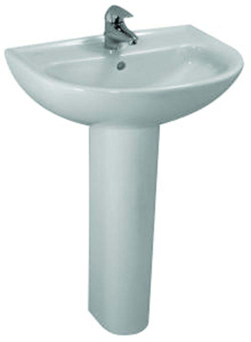 click on Round Basin and Pedestal image to enlarge
