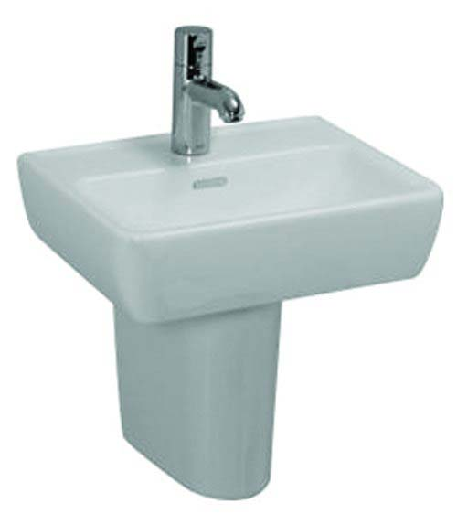 click on Square Hand Basin and Pedestal image to enlarge