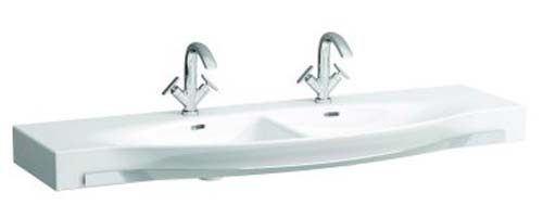 click on Double Countertop Basin with Towel Rail image to enlarge
