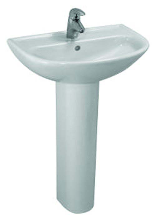 click on Compact Basin and Pedestal image to enlarge