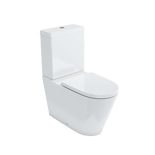 click on Rimless Close Coupled WC (fully back to wall) image to enlarge