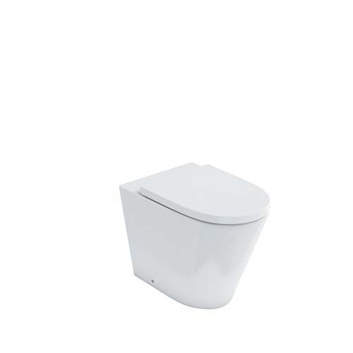 click on Rimless Back to Wall WC image to enlarge