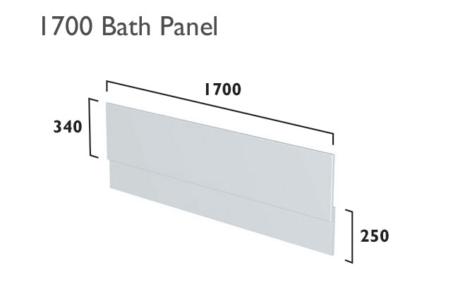 click on Bath Front Panel image to enlarge