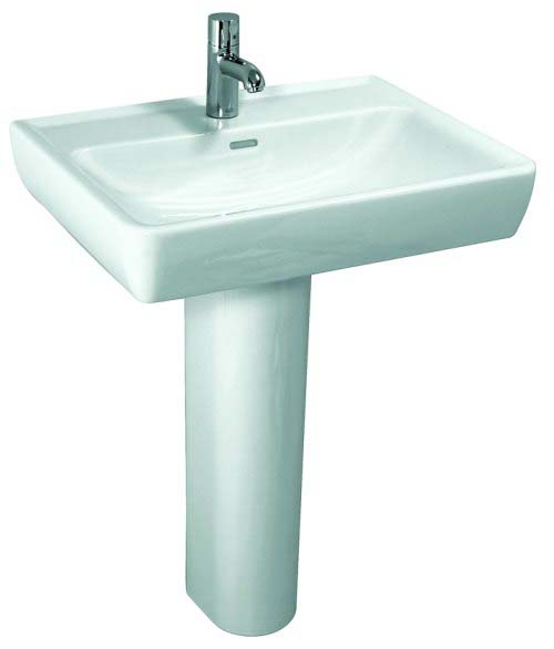 click on Square Basin and Pedestal image to enlarge