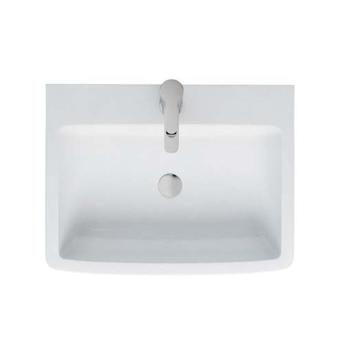 click on Cube Semi-Recessed Basin image to enlarge