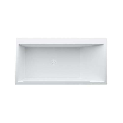 click on KARTELL Drop-in Solid Surface Bath image to enlarge