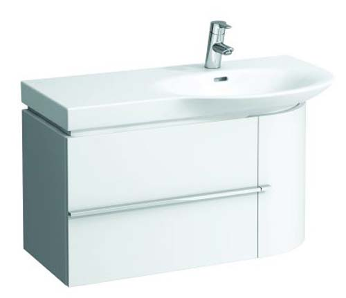click on 84cm Vanity Unit with Drawer and Door image to enlarge