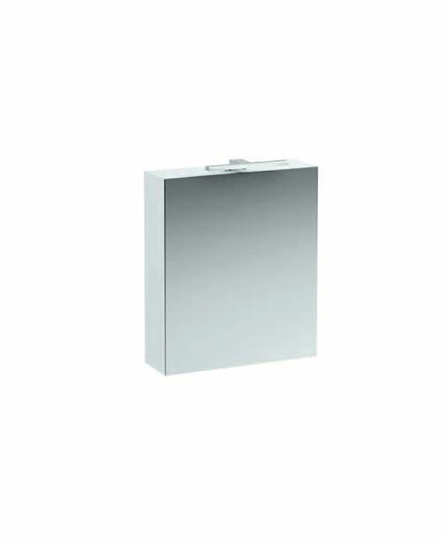 click on 60cm Mirrored Cabinet with Light and Shaver Socket image to enlarge