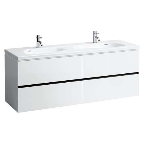 click on Vanity Unit with 4 Drawers for Doubl e Basin image to enlarge