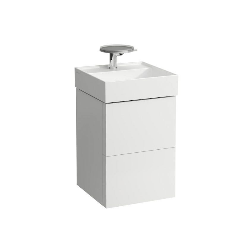 click on 44cm Vanity Unit with 2 Drawers image to enlarge