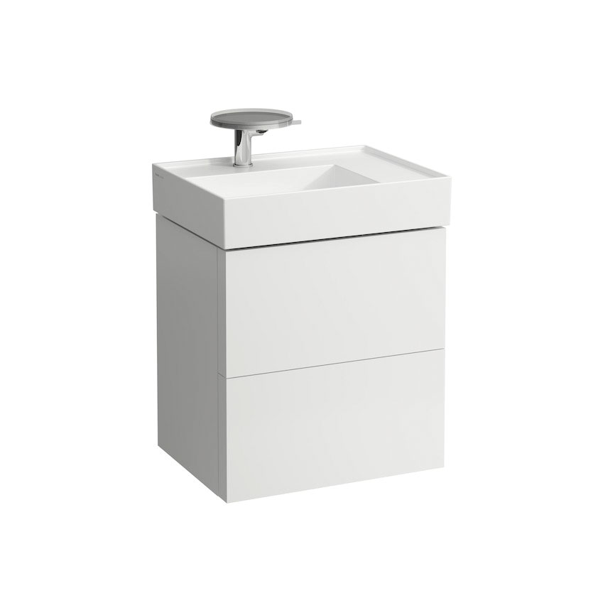 click on 58cm Vanity Unit with 2 Drawers image to enlarge