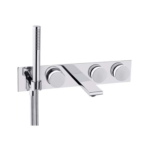 click on 5 Hole Wall Mounted Bath Shower Mixer image to enlarge