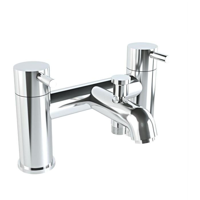 click on 2 Tap Hole Bath Shower Mixer image to enlarge