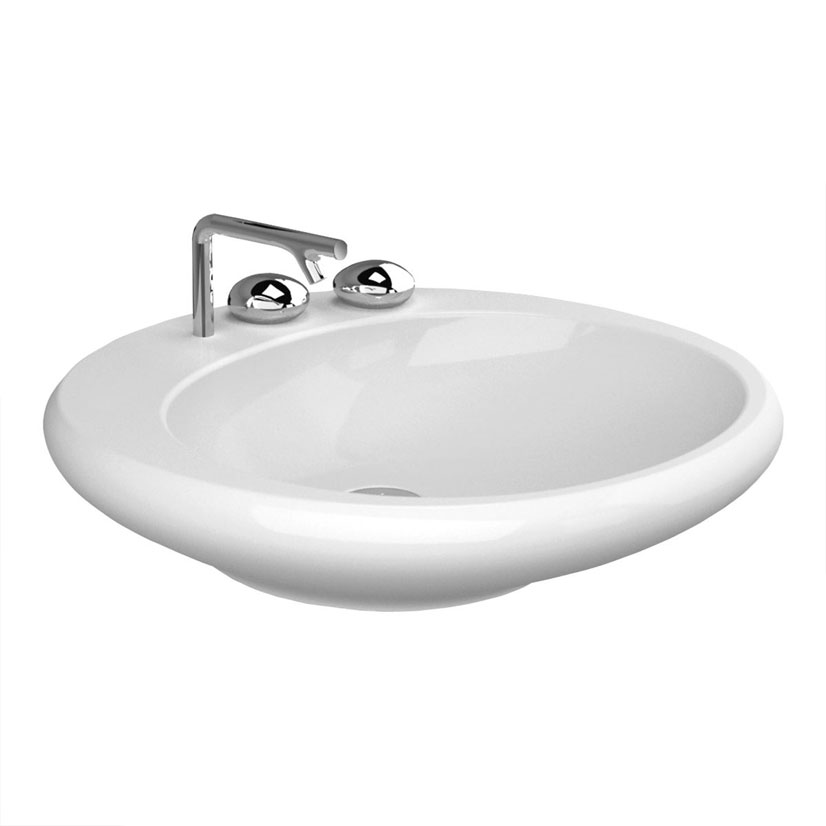 click on Countertop Flat Top Basin 60cm image to enlarge