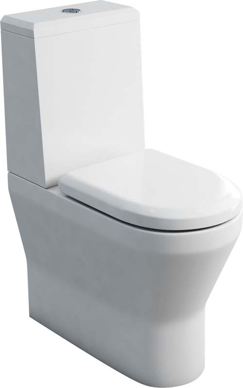 click on Comfort Close Coupled WC - One Piece Cistern Lid image to enlarge