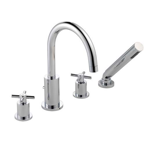 click on 4 Hole Bath Shower Mixer image to enlarge