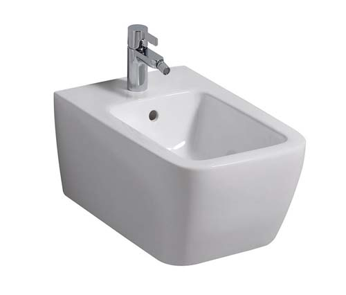click on Square Wall Hung Bidet image to enlarge