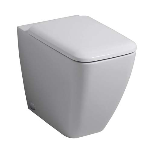 click on Square Rimless Back to Wall WC image to enlarge