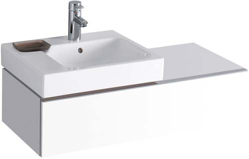 click on 89cm Vanity Unit with Shelf image to enlarge