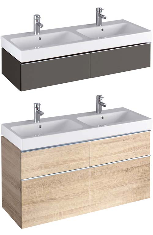 click on 120cm Vanity Unit for Double Basin image to enlarge