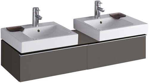 click on 120cm Vanity Unit for 2 Basins image to enlarge
