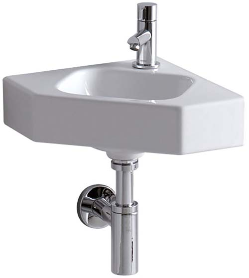 click on Corner Hand Basin image to enlarge