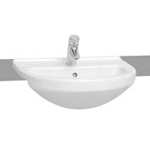 click on Round Semi-Recessed Basin image to enlarge