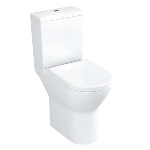 click on Comfort Raised Height Close Coupled WC Suite (Open Back/Fully Back to Wall) image to enlarge
