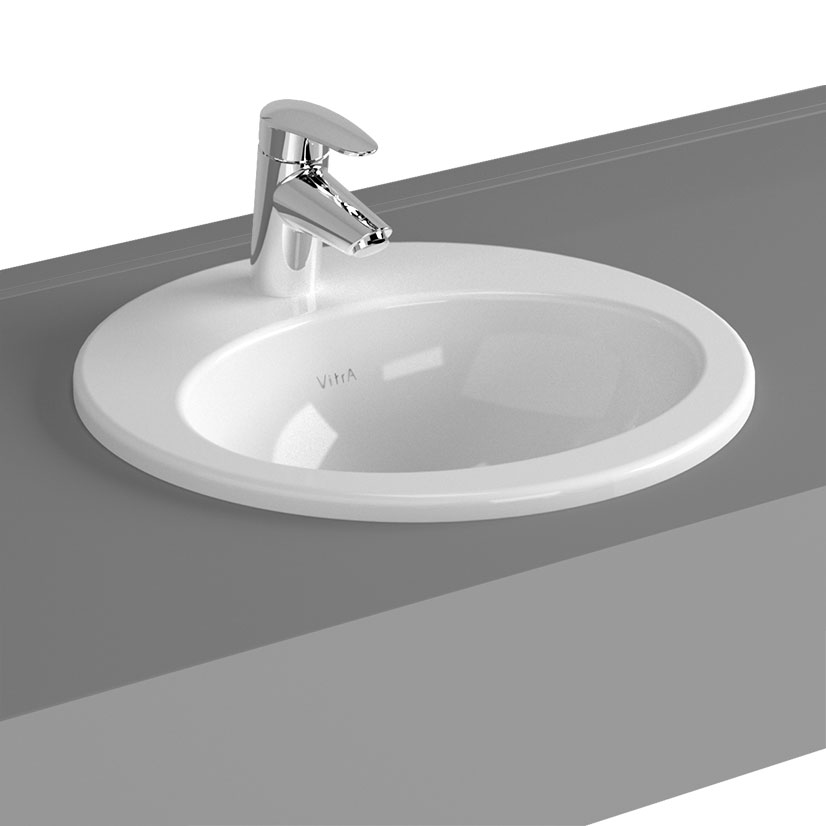 click on S20 Countertop Basin Oval image to enlarge