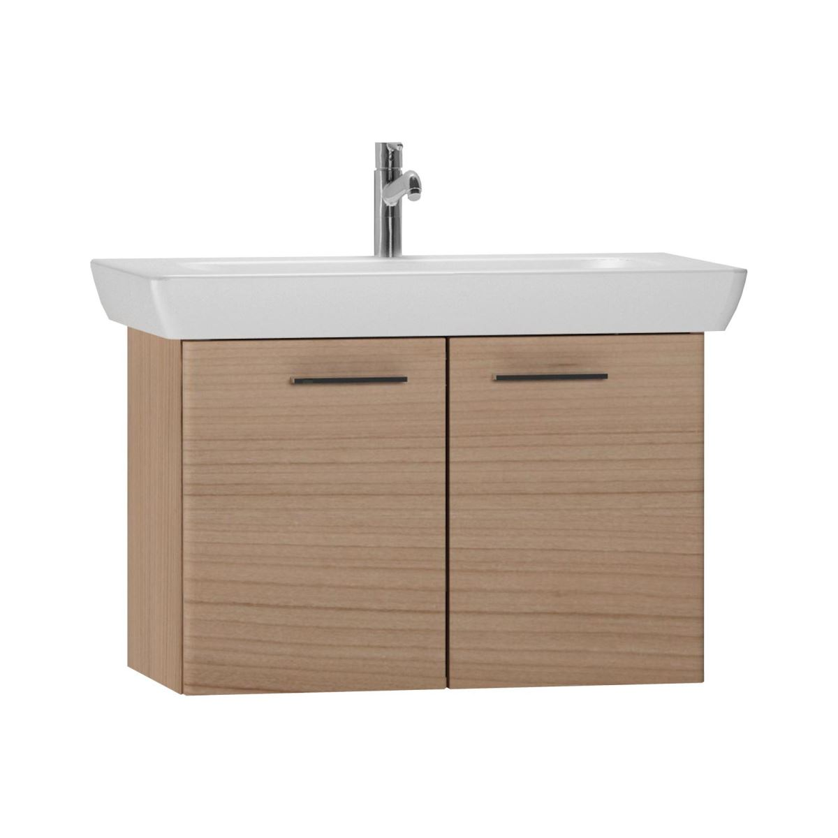click on 85cm Double Door Vanity Unit with Basin image to enlarge