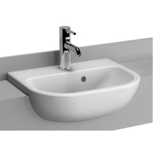 click on Short Projection Semi-Recessed Basin image to enlarge