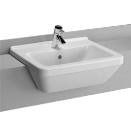 click on Square Semi-Recessed Basin image to enlarge