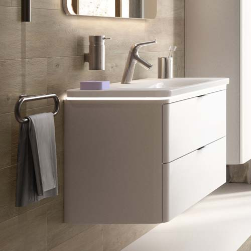 click on Basin Unit with 2 Drawers image to enlarge