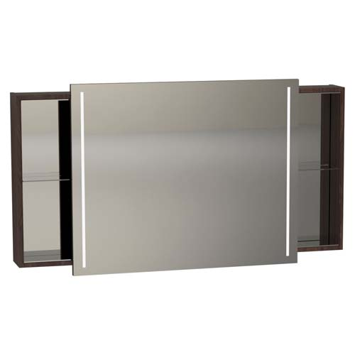 click on Illuminated Mirror Cabinet with Sliding Door image to enlarge