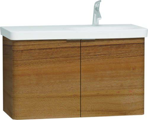 click on Asymmetrical Basin Unit with 2 Doors image to enlarge