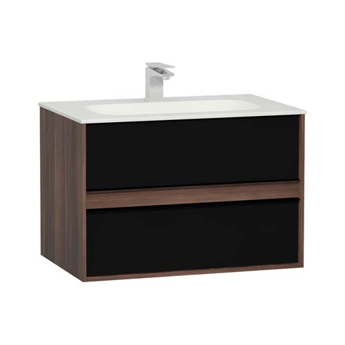 click on 80cm Basin and Unit with Two Drawers image to enlarge