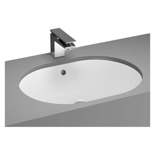 click on Oval Undercounter Basin image to enlarge