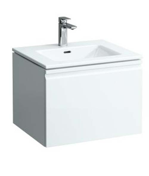 click on 60cm Basin & Vanity Unit with Drawer image to enlarge