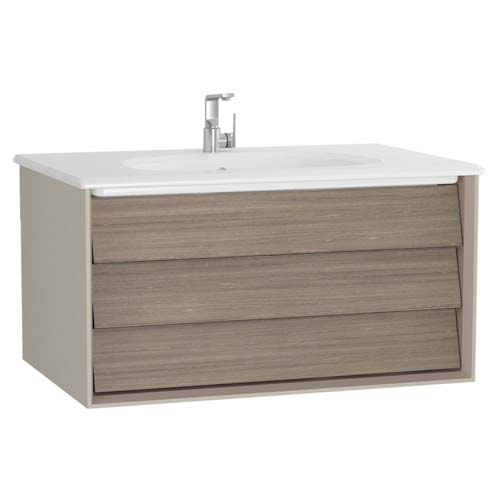 click on Vanity Unit and Ceramic Basin with 1 Drawer image to enlarge