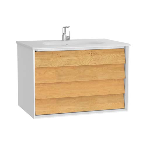 click on Vanity Unit and Ceramic Basin with 2 Drawers image to enlarge