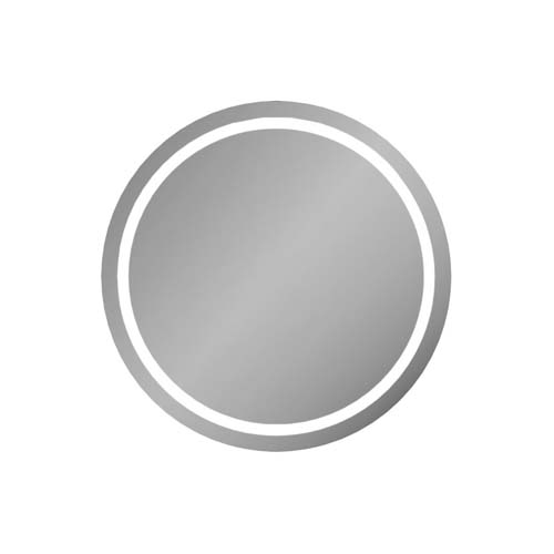 click on Deluxe Round Illuminated Mirror image to enlarge