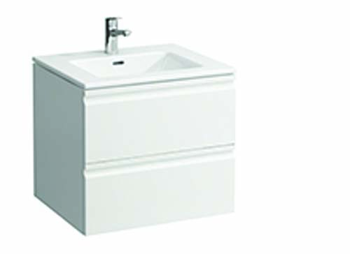 click on 60cm Basin & Vanity Unit with 2 Drawers image to enlarge