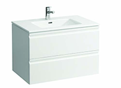 click on 80cm Basin & Vanity Unit with 2 Drawers image to enlarge