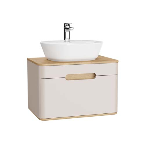 click on Vanity Unit with 1 Drawer for Sit on Basins image to enlarge