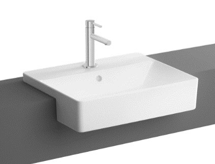click on Nuo Semi Recessed Basin image to enlarge