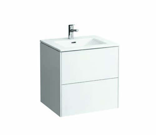 click on 60cm Vanity Unit with Slim Washbasin image to enlarge