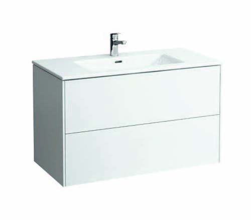 click on 100cm Vanity Unit with Slim Washbasin image to enlarge
