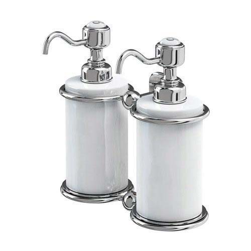 click on Double Liquid Soap Dispenser image to enlarge