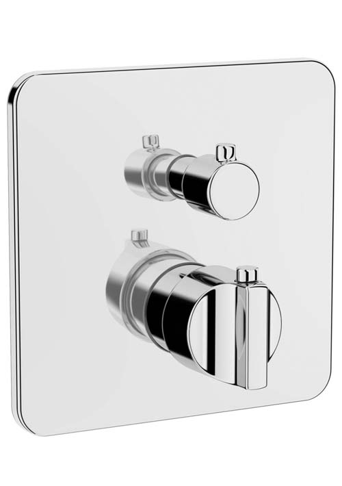 click on Wall Mounted Thermostatic Shower Valve image to enlarge